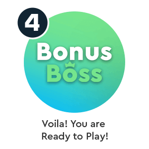 Step 4 to deposit by phone bill in Bonus Boss phone casino: Voila! You are ready to Play!